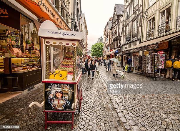 rouen, normandia, francia - rouen stock pictures, royalty-free photos & images