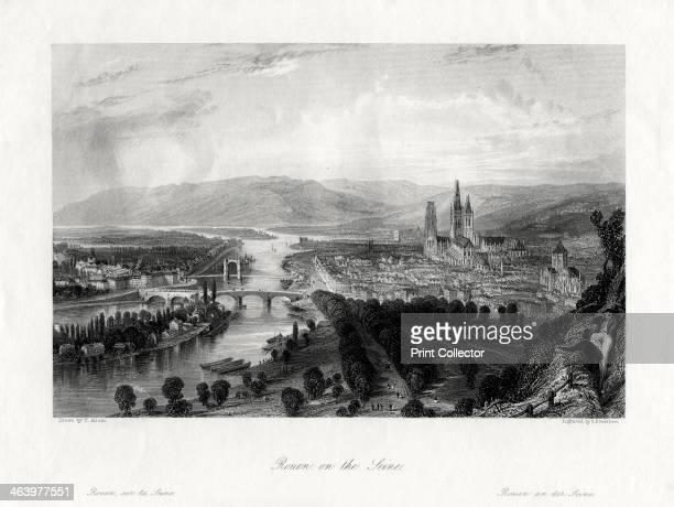 Rouen on the Seine France 1875