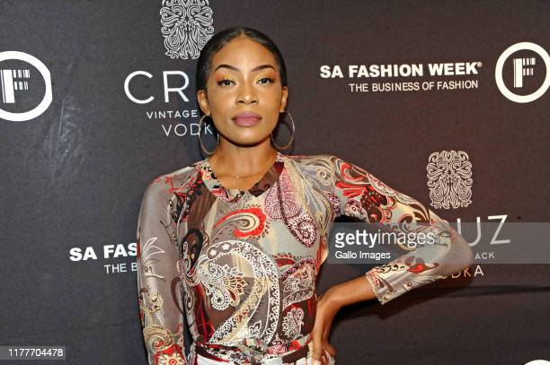 Rouge during the Cruz Vodka SA Fashion Week 2019 official opening party held at Ferguson's 5th on October 21 2019 in Sandton South Africa The event...