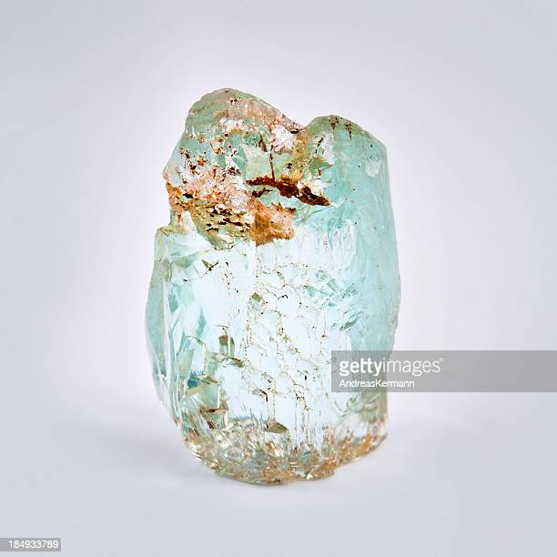 rough Aquamarine Gem