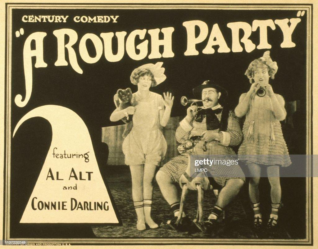 A Rough Party : News Photo