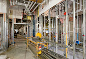 Rough Plumbing and Steel Stud Framing, Commercial Construction