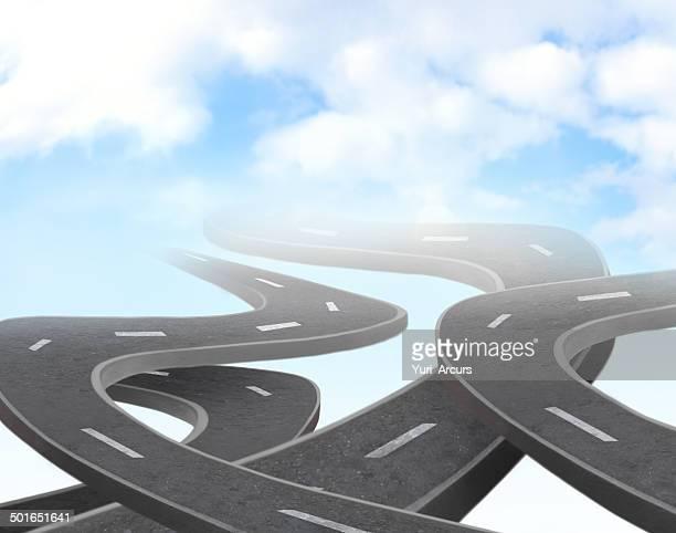 Rough chemins mènent à la hauteur de l'excellence
