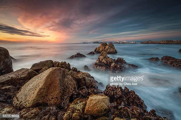 Rough Sea at Point Piños - Pacific Grove, CA