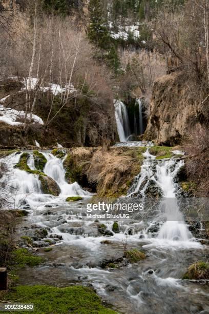Roughlock Falls in the Black Hills of South Dakota.