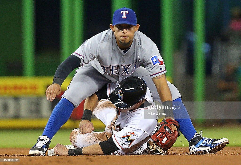 Texas Rangers v Miami Marlins : News Photo