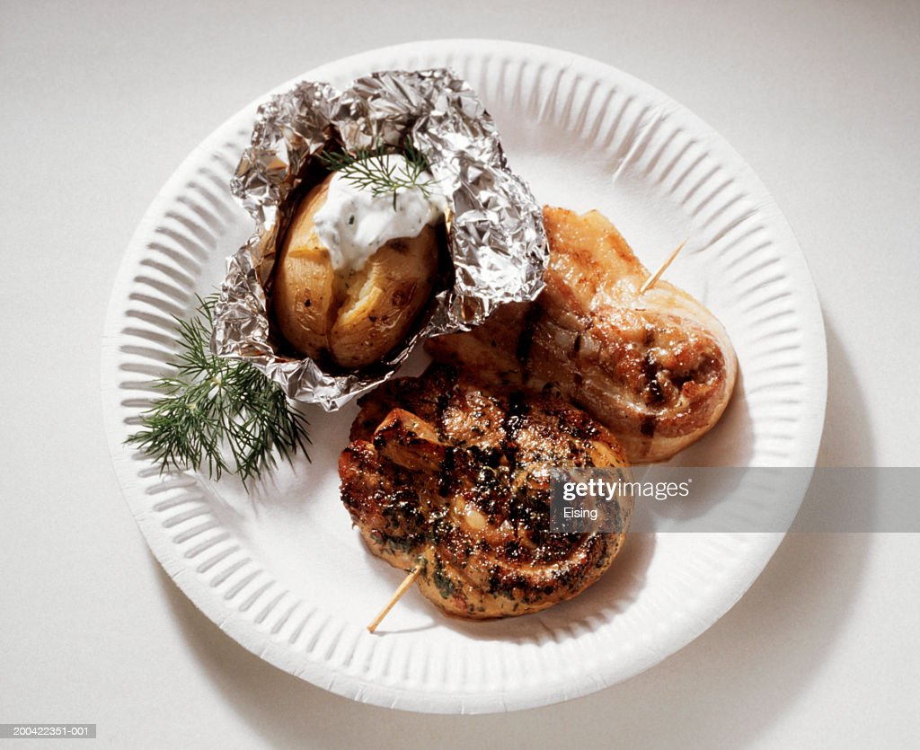 Roulade Skewers : Stock Photo