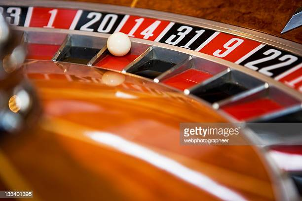 roulette - number 14 stock photos and pictures