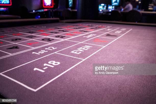 Roulette Table landscape
