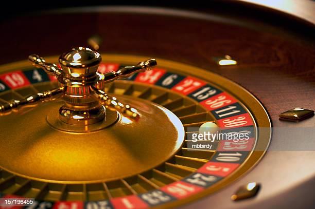 Roulette wheel - 8 Black