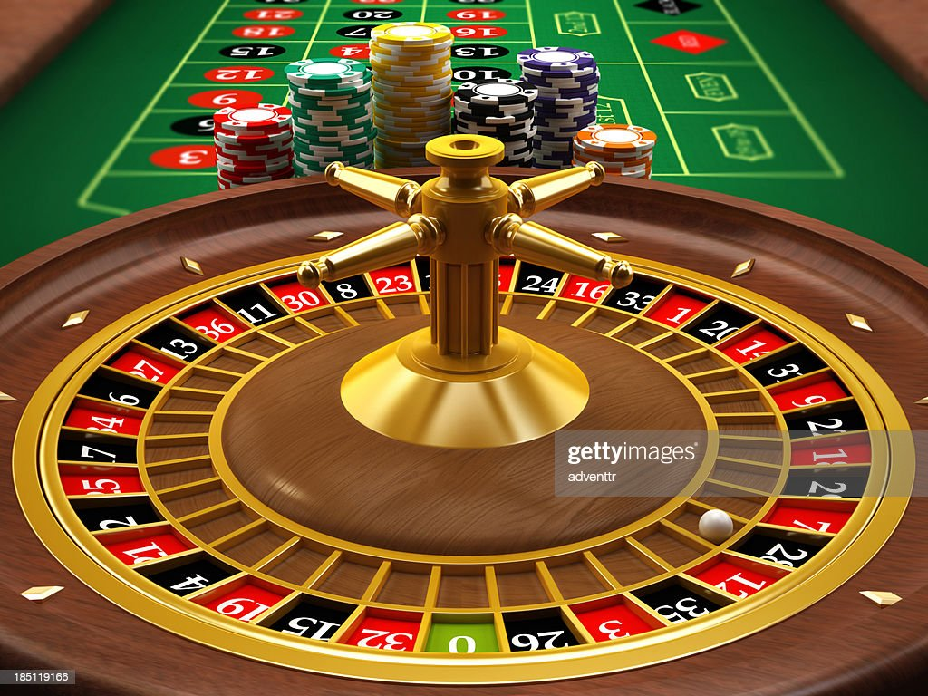Roulette wheel : Stock Photo