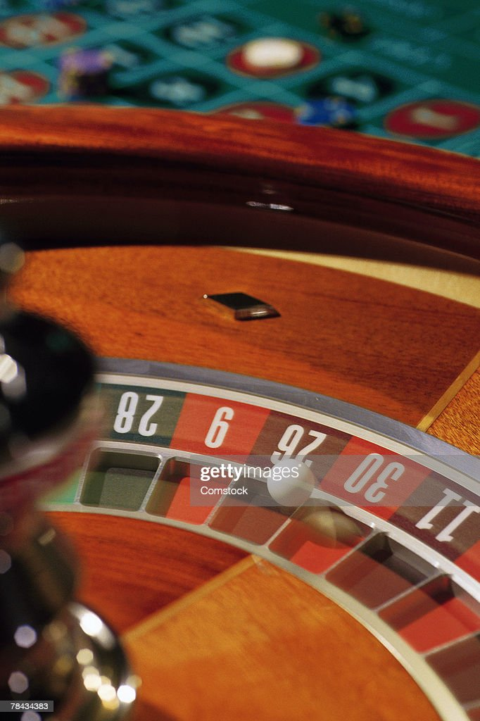 Roulette wheel : Stockfoto