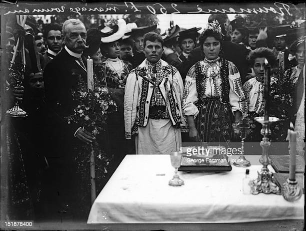 Roumanie Mariage Roumain, between 1900 and 1919.