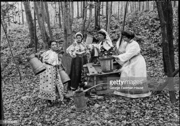 Roumanie scenes rurales diverses between 1900 and 1919