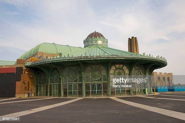 round carousel house, asbury park, nj - new jersey stock pictures, royalty-free photos & images
