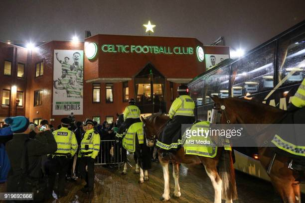 Round of 32 match between Celtic and Zenit St Petersburg at the Celtic Park Glasgow United Kingdom