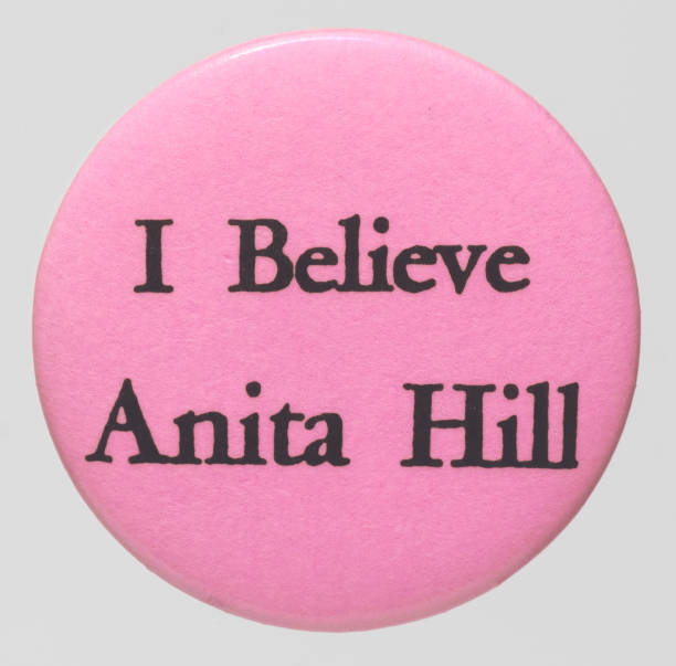 DC: 11th October 1991 - Anita Hill Testifies Against Supreme Court Nominee Clarence Thomas