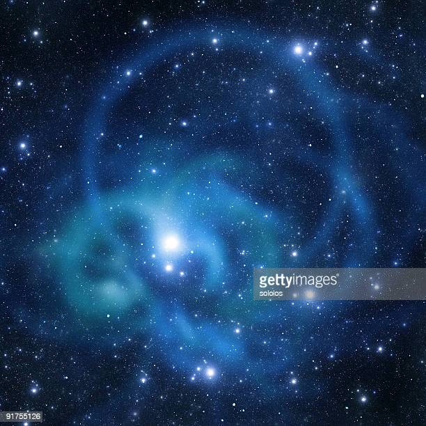 Round space galaxy