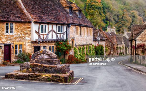 Roundabout, Castle Combe, Wiltshire, England