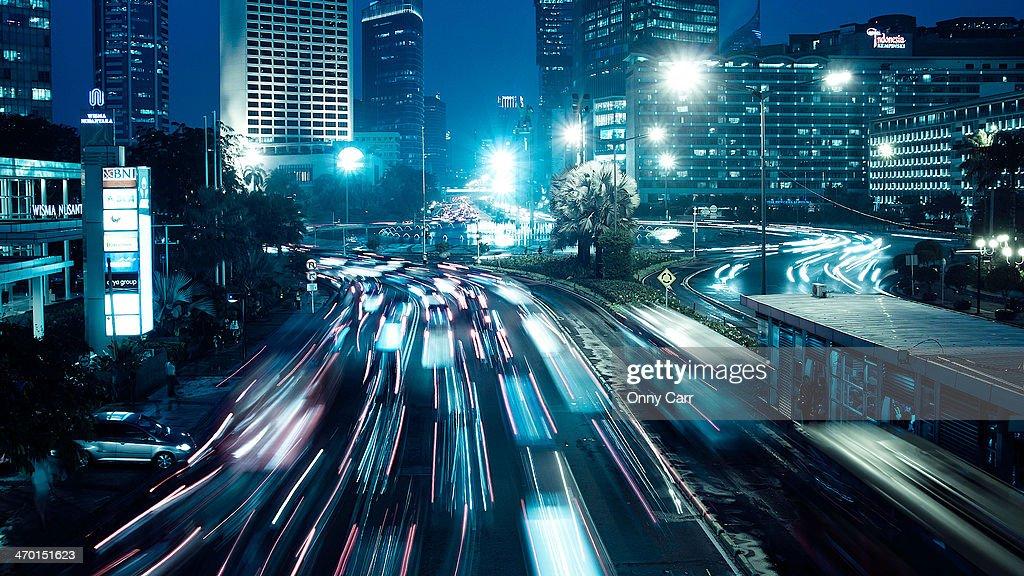 HI Roundabout : Stock Photo