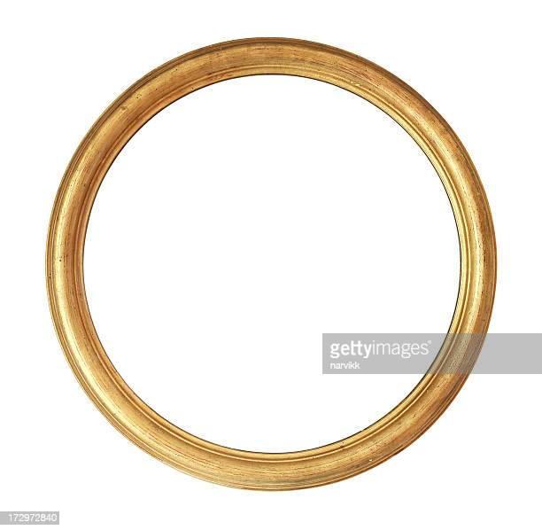 Rounded Golden Frame