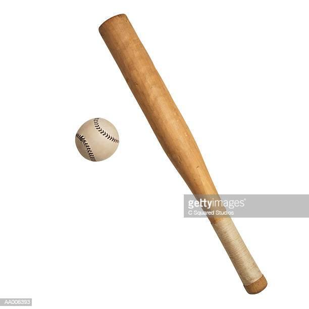 rounders bat and ball - bate fotografías e imágenes de stock