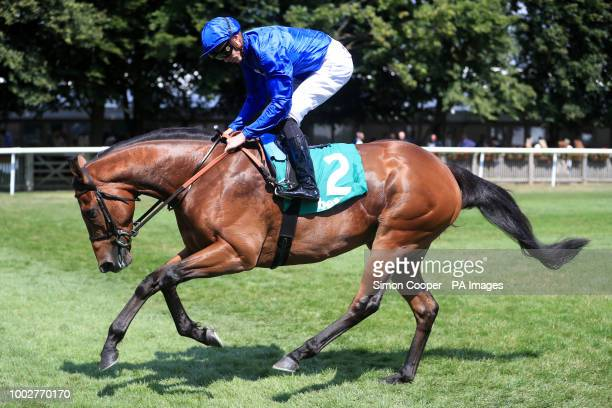 Roussel ridden by James Doyle goes to post