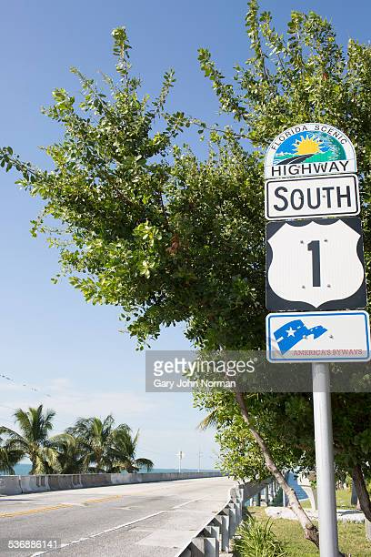 US route 1 on Florida Oversea Highway