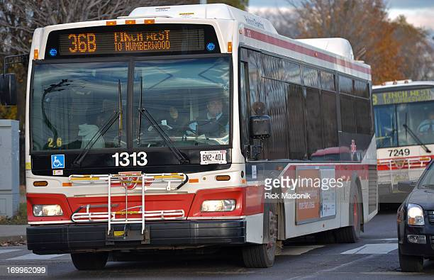 Route 36 buses are at the centre of the controversy related to last week's police request for buses to help transport Mayor Rob Ford's football team...