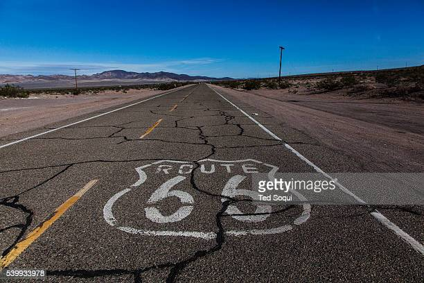US Route 66 also known as the Mother Road in the Mojave desert of California The two major connector cites in the Mojave desert are Barstow and Amboy...