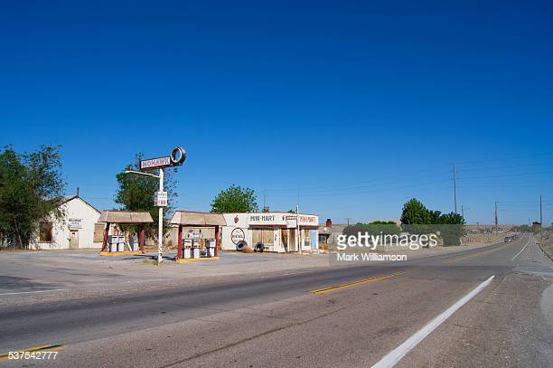 Route 66 gas station in California.