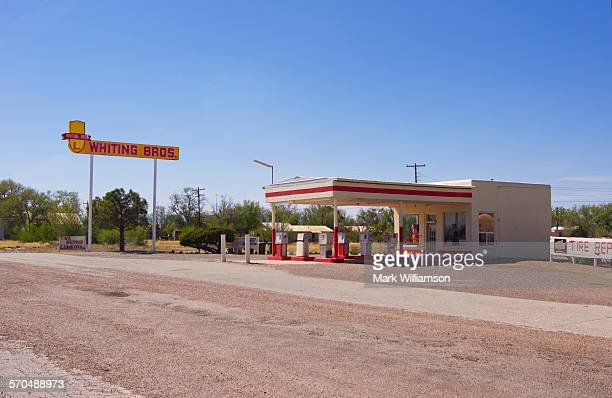 Route 66 gas station.