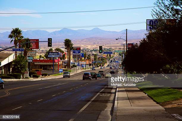 Route 66 in Barstow California