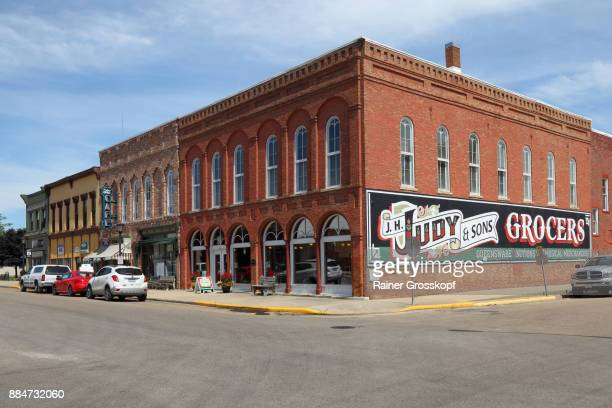 route 66 mural in pontiac - rainer grosskopf stock pictures, royalty-free photos & images