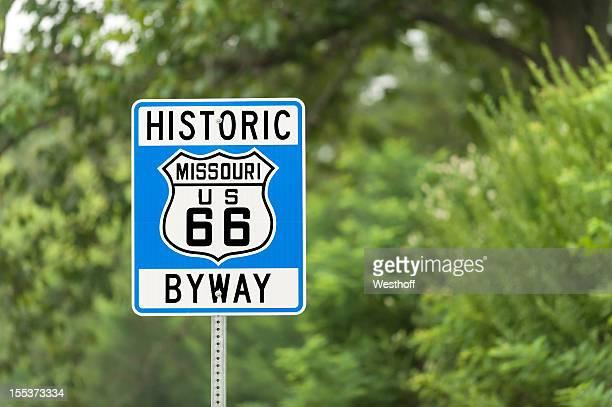 route 66 の標識 - ミズーリ州 ストックフォトと画像