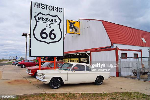 Route 66 trading post.
