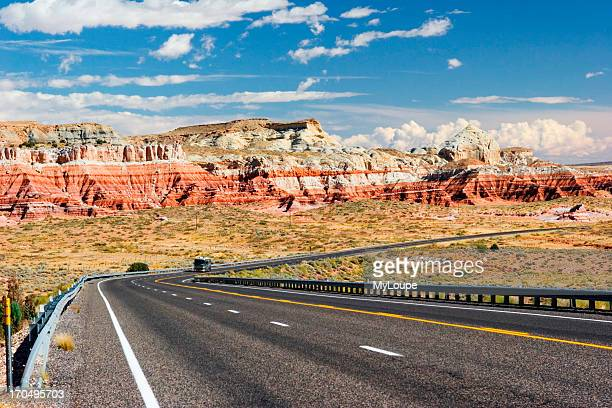 Route 89 In Southern Utah Near Glen Canyon National Recreation Area