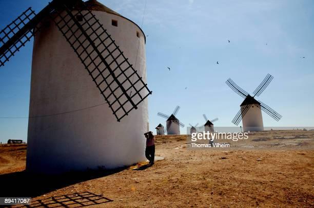 Route of Don Quixote Windmills in Campo de Criptana Ciudad Real