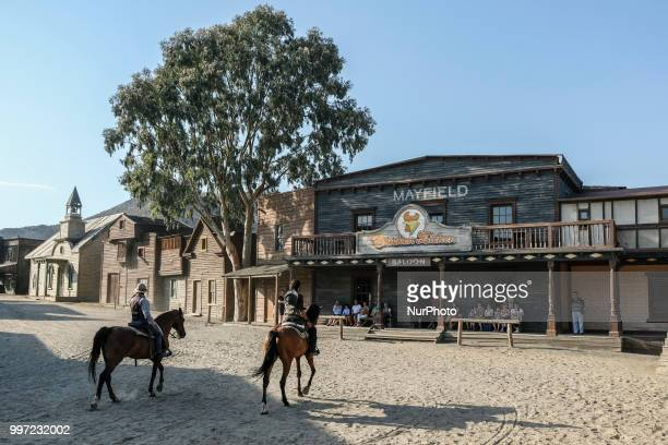 Route Of The Spaghetti Western Movie In Almeria Spain on 30 June 2018 Western films as mythical as quotThe good the ugly and the badquot quotOnce...