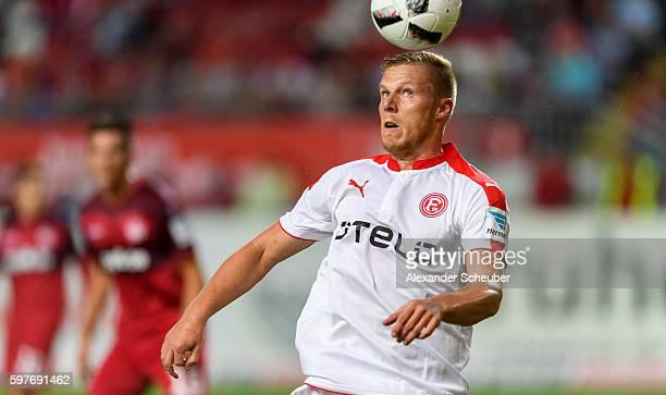 Rouwen Hennings of Fortuna Duesseldorf during the Second Bundesliga match between 1 FC Kaiserslautern and Fortuna Duesseldorf at FritzWalterStadion...