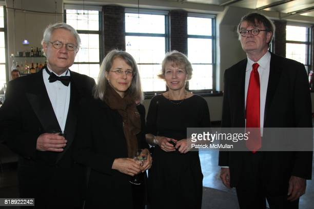 Rouy Blount Joan Griswold Jenny Nilsson and Garrison Keillor attend THE AUTHOR'S GUILD DINNER at Tribeca Rooftop on May 24th 2010 in New York City