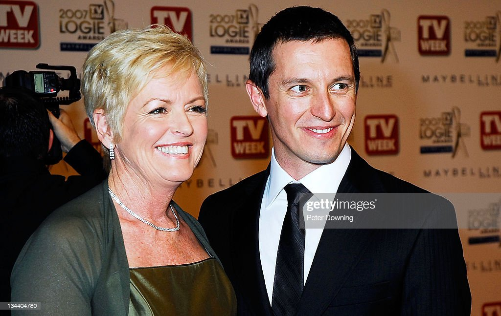 Rove McManus and Coralie McManus during 2007 TV Week Logie Awards- Arrivals at Crown Casino in Sydney, NSW, Australia.