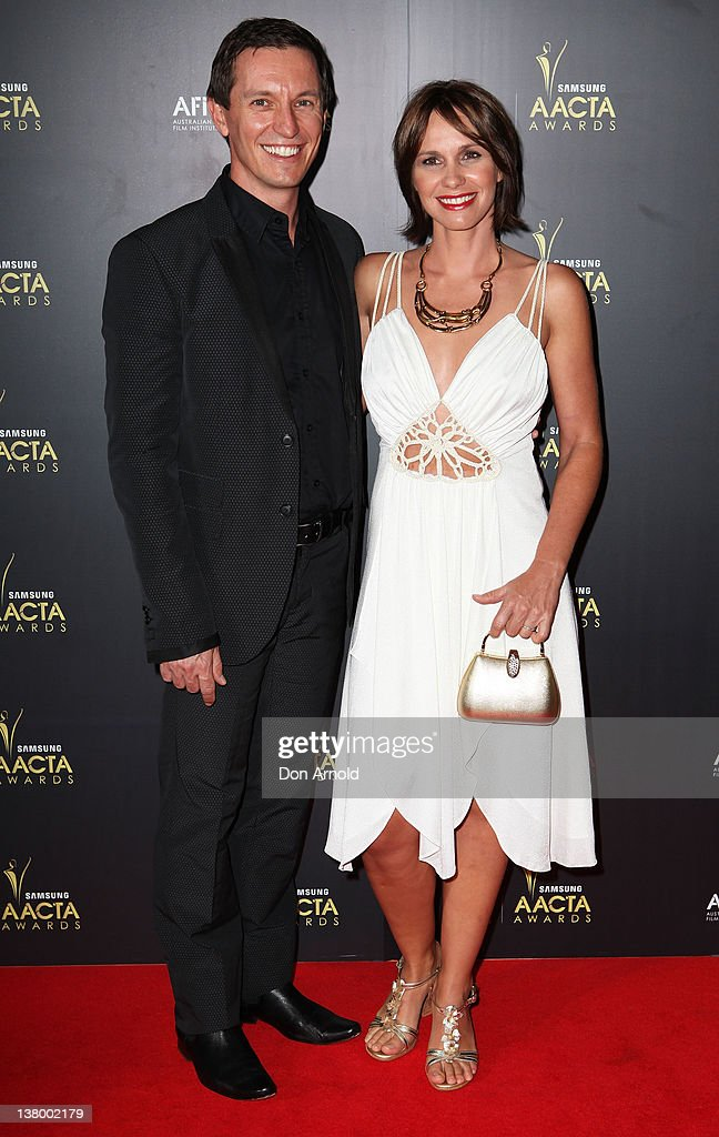 Rove McManus and Tasma Walton arrive for the 2012 AACTA Awards at Sydney Opera House on January 31, 2012 in Sydney, Australia.