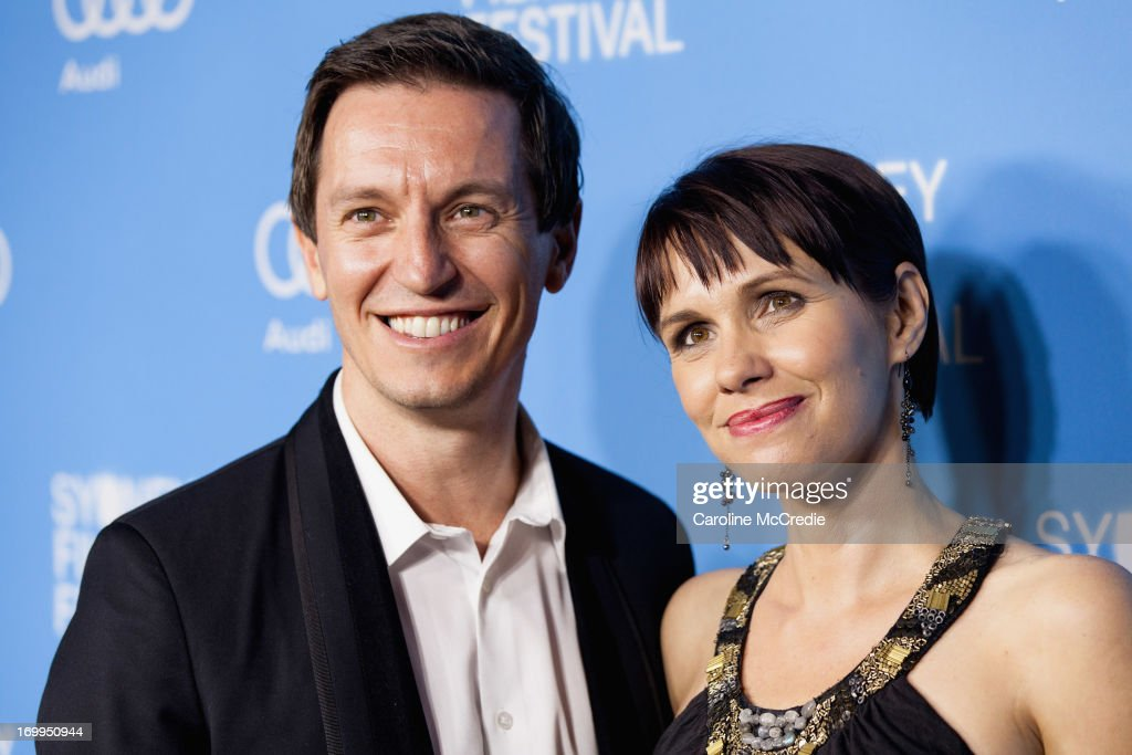 Rove McManus and Tasma Walton attend the world premiere of 'Mystery Road' on opening night of the Sydney Film at the State Theatre on June 5, 2013 in Sydney, Australia.