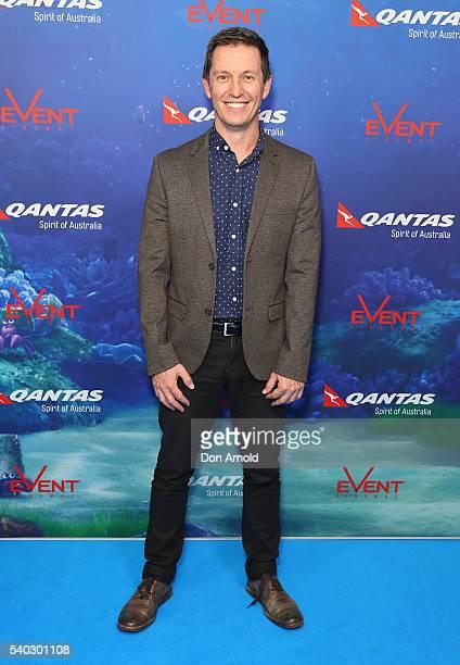 Rove McManus arrives ahead of the Finding Dory Australian Premiere at Event Cinemas George Street on June 15 2016 in Sydney Australia