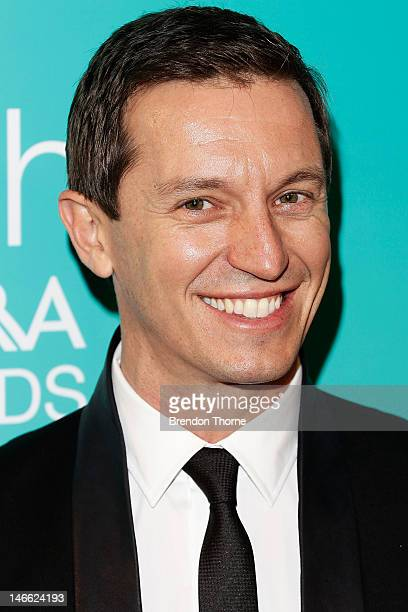 Rove McManus arrives at the 10th annual Astra Awards at Sydney Theatre on June 21 2012 in Sydney Australia