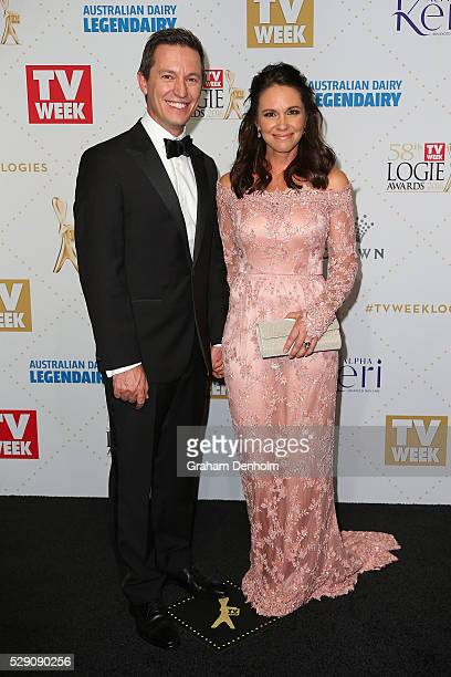 Rove McManus arrives at the 58th Annual Logie Awards at Crown Palladium on May 8 2016 in Melbourne Australia