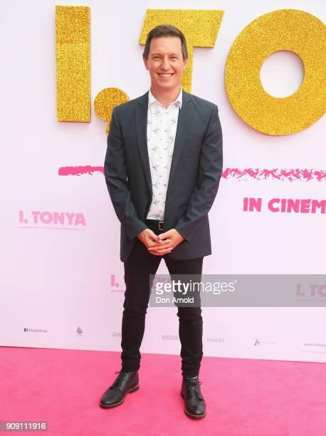 Rove McManus arrives at the Australian Premiere of 'I Tonya' on January 23 2018 in Sydney Australia