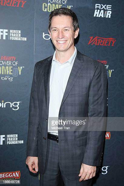 Rove McManus arrives at Variety's 3rd Annual Power of Comedy event benefiting The Noreen Fraser Foundation held at Avalon on November 17 2012 in...