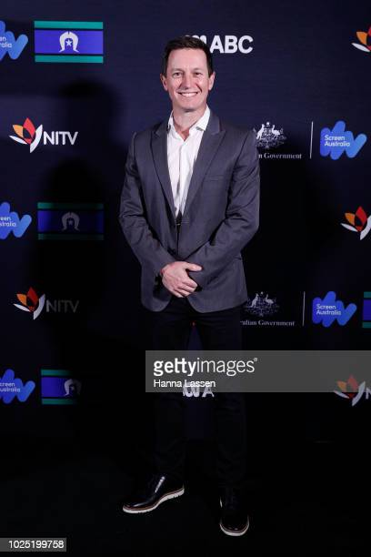 Rove McManus attend the 25th Anniversary of Screen Australia's Indigenous Department at Carriageworks on August 30 2018 in Sydney Australia